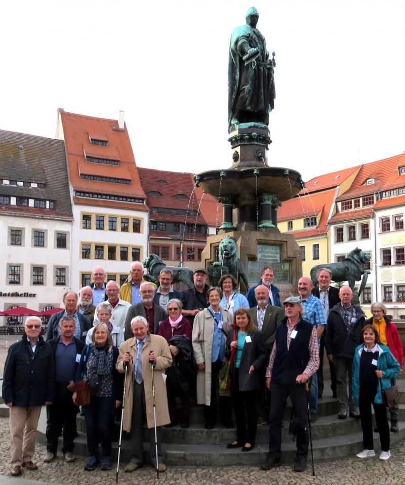 Technisch-historische Exkursion vom 24. bis 26. Mai 2019 in Freiberg