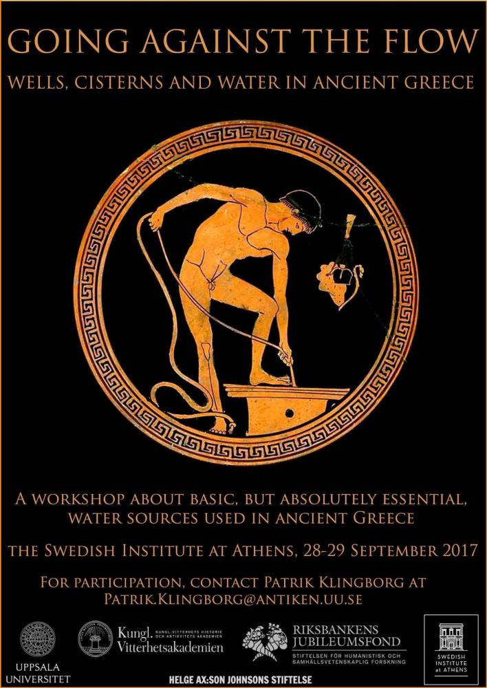 GOING AGAINST THE FLOW - WELLS, CISTERNS AND WATER IN ANCIENT GREECE